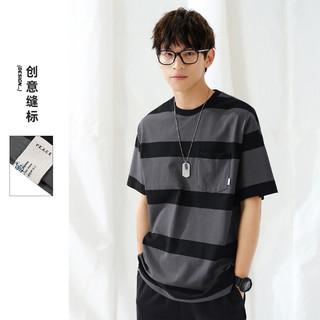 太平鸟 BWDAB2500A7 男士T恤