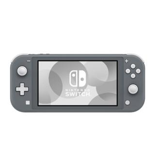 Nintendo 任天堂 海外版 Switch Lite 游戏主机 灰色 港版