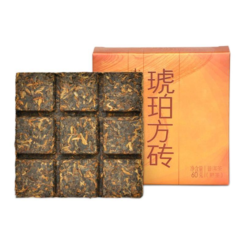 TAETEA 大益 琥珀方砖 普洱茶