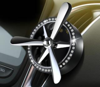 果奇 QCXS1 车载出风口香水 活动装 银色