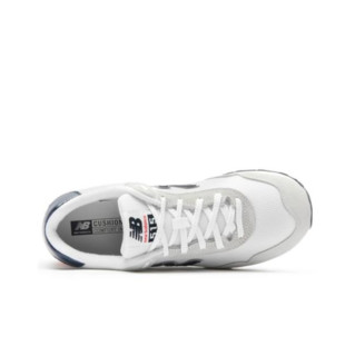 new balance 515系列 男子跑鞋 ML515OTX 灰色/浅蓝/红色 45.5
