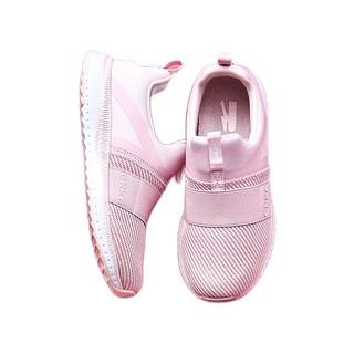 ERKE 鸿星尔克 女童休闲运动鞋 粉白 36码