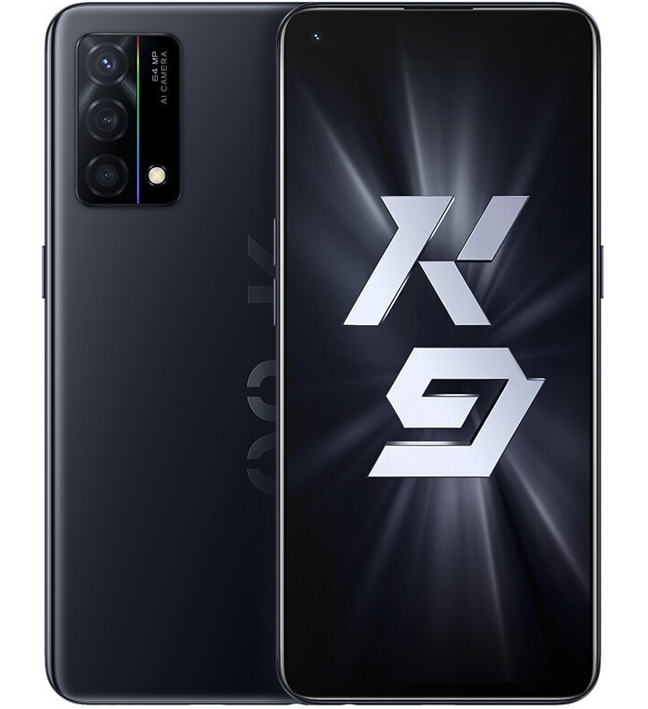 OPPO K9 5G手机 8GB+256GB 黑桃