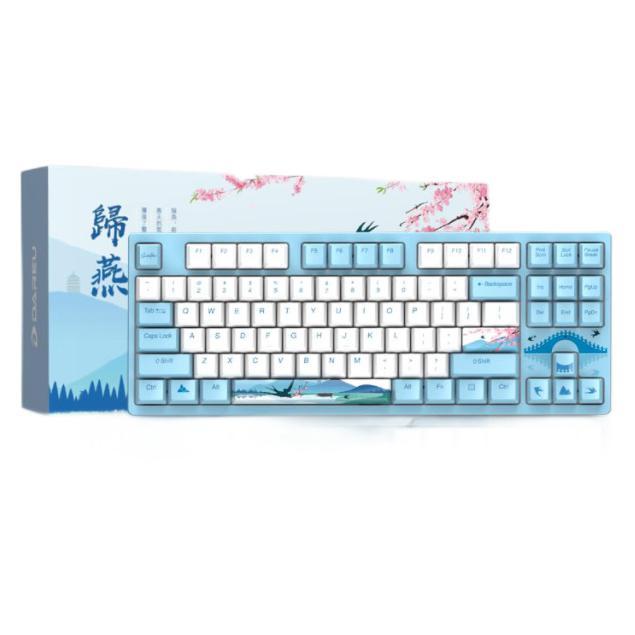 Dareu 达尔优 A87 归燕主题 87键 有线机械键盘