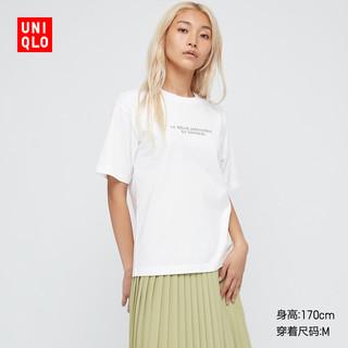 UNIQLO 优衣库 优衣库 女装 (UT) 卢浮宫博物馆印花T恤(短袖) 437898UNIQLO