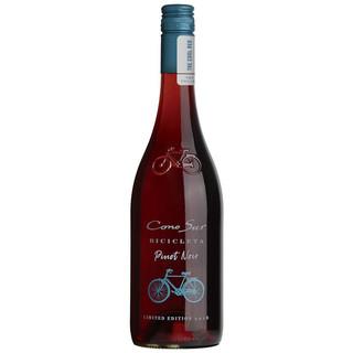 CONOSOR 柯诺苏 自行车系列 黑比诺黑皮诺 干红葡萄酒 透明瓶 750ml