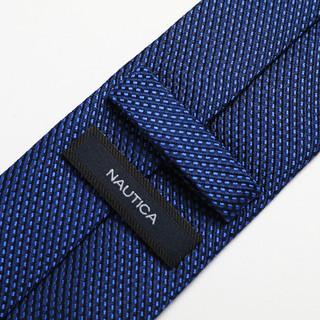诺帝卡/Nautica 男士桑蚕丝商务正装结婚领带男式时尚领带男