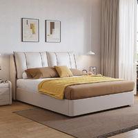 CHEERS 芝华仕 C039 简约真皮储物床 +D026独袋弹簧床垫 1.5/1.8m