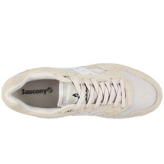 索康尼SAUCONY Originals Shadow 5000 男士网面透气专业缓震跑步鞋 路跑鞋 Tan/White 标准41/us8
