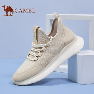 CAMEL 骆驼 A112128110 男士透气飞织运动鞋