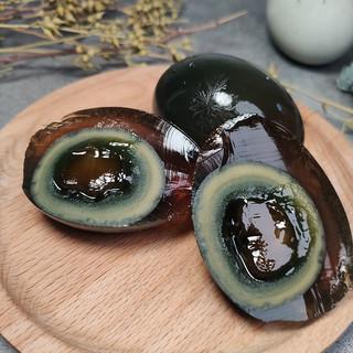 神丹皮蛋松花蛋 无铅 溏心 湖北特产10枚 蛋类鸭皮蛋
