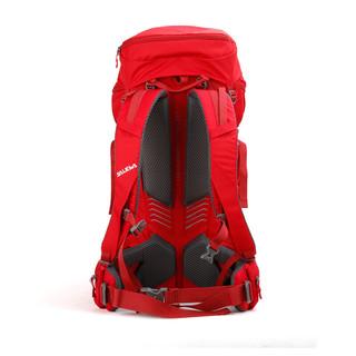 SALEWA沙乐华登山包双肩包图途运动户外探险旅行防水专业包大容量 SLWB015 红色 50L