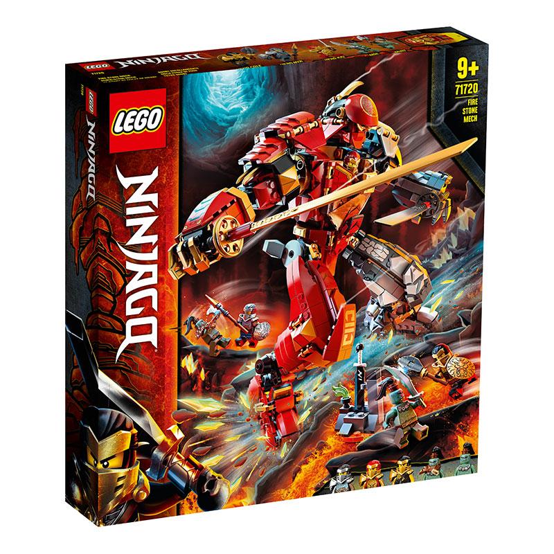 黑卡会员 : LEGO 乐高 幻影忍者系列 71720 凯的火石机甲