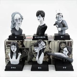 棒潮玩 UNBOX &伊藤润二  伊藤润二怪奇箱系列 衍生潮流盲盒