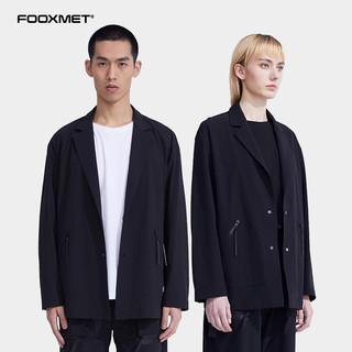 fooxmet风谜轻机能休闲小西装男士外套西服春秋薄款新款上衣单西