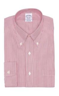 Stripe Print Regent Fit Dress Shirt