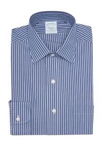 Stripe Print Long Sleeve Milano Fit Shirt