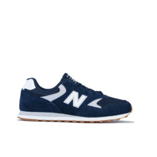 new balance 393系列 男子跑鞋 ML393JD3 蓝白色 44.5
