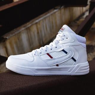 361° 361度 361度板鞋男鞋高帮潮流小白鞋轻便舒适透气运动休闲鞋