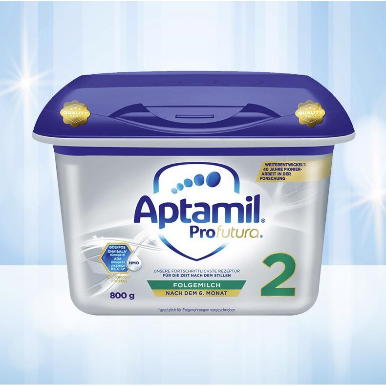 Aptamil 爱他美 较大婴儿配方奶粉 白金版 2段 800g