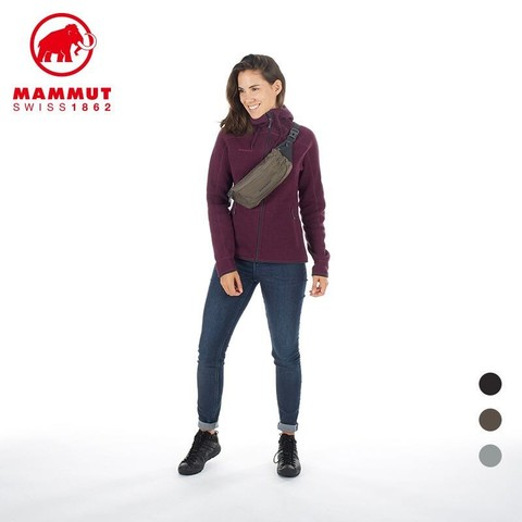 Mengmaxiang 猛犸象 猛犸象 Mammut MAMMUT猛犸象Neuveville 男女户外耐用防水跑步运动多功能腰包2520-00141 黑色 2L