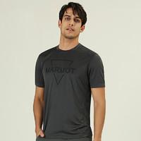 Marmot 土拨鼠 54305 男士棉感速干短袖T恤