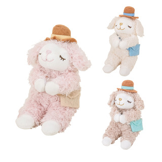 LIVHEART羊公仔玩偶可爱布娃娃旅行出游毛绒玩具小礼物生日送女友