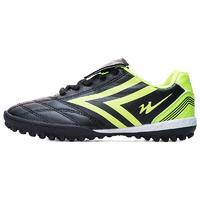 双星 男童足球鞋 黑绿 30码