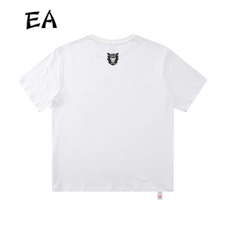 EA潮牌日系HUMAN MADE开原宿三只飞鸭子男女短袖T恤男女同款情侣可爱简约 白色 L