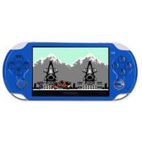 酷孩 游戏机抖音同款PSP游戏机掌机 升级款宝石蓝 标配4G