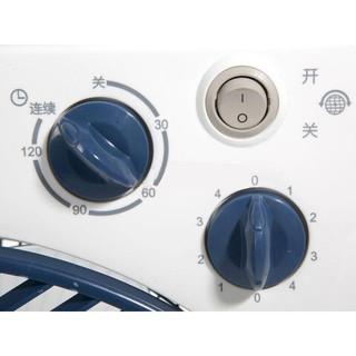艾美特(Airmate)  台扇电风扇转页扇宿舍定时12吋金属后网FB3019T2