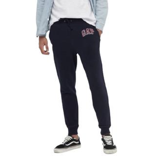 Gap 盖璞 碳素软磨系列 男女款休闲裤 618882 海军蓝 XXL