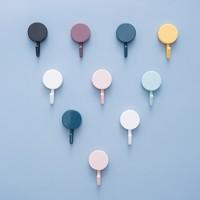 卡沐森   创意浴室强力免钉挂钩  10个装(随机色)