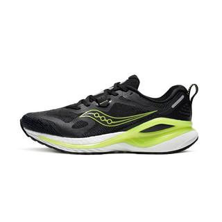 saucony 索康尼 Phoenix Inferno 男子跑鞋 S28150-3 黑绿 40.5