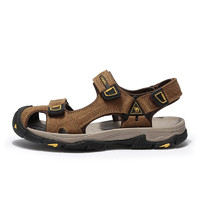 Camel/骆驼 A022307392 男士休闲凉鞋 驼色 39