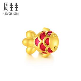 SUPER会员 : Chow Sang Sang 周生生  91505C Charme串珠系列 锦鲤金鱼转运珠