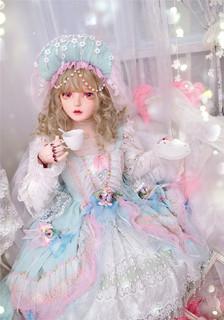 LadyMiao 森林夜和弦 洛丽塔 JSK无袖连衣裙  均色 S