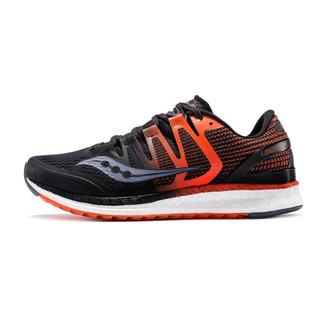 saucony 索康尼 LIBERTY ISO 男子跑鞋 S20410-4 黑色/桔色 42