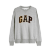 Gap 盖璞 碳素软墨系列 男女款圆领卫衣 665548