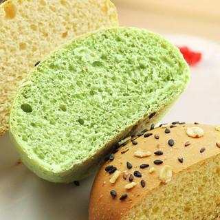阿闽仔 全麦软欧包面包代餐饱腹低脂无蔗糖杂粮粗粮早餐零食 全麦欧包8只