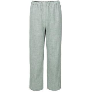 十三余小豆蔻儿[斑竹客]黑绿双色内搭裤子(M、裤子(黑色) 现货)