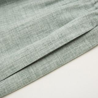 十三余小豆蔻儿[斑竹客]黑绿双色内搭裤子(L、裤子(浅绿色) 现货)