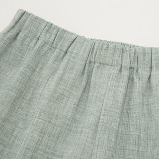 十三余小豆蔻儿[斑竹客]黑绿双色内搭裤子(XL、裤子(浅绿色) 现货)