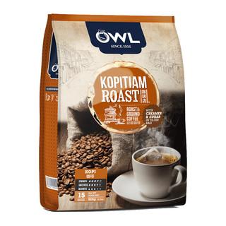 猫头鹰 OWL  研磨系列袋泡三合一咖啡 15条 525g