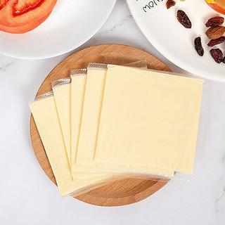 蒙牛芝士片奶酪棒起司早餐家用汉堡奶酪片芝士碎三明治材料1包