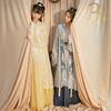 十三余小豆蔻儿[流光记-银临联名款]4.5米摆下裙褙子汉服女(XL、双层褙子(浅黄色) 流光记  现货)