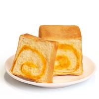牛可可 咸蛋黄手撕面包奶香夹心魔方生吐司学生营养早餐小零食整箱  咸蛋黄魔方/六个装/420g