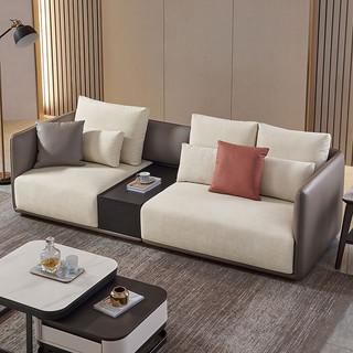 芝华仕都市布艺沙发客厅现代高端储物柜组合大户型2013