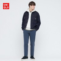 UNIQLO 优衣库 优衣库 男装/女装 牛仔茄克(外套)(水洗产品) 433065 UNIQLO
