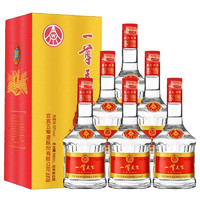 京东PLUS会员 : WULIANGYE 五粮液 一尊天下绵柔10 浓香型52°白酒  500ml*6瓶整箱装